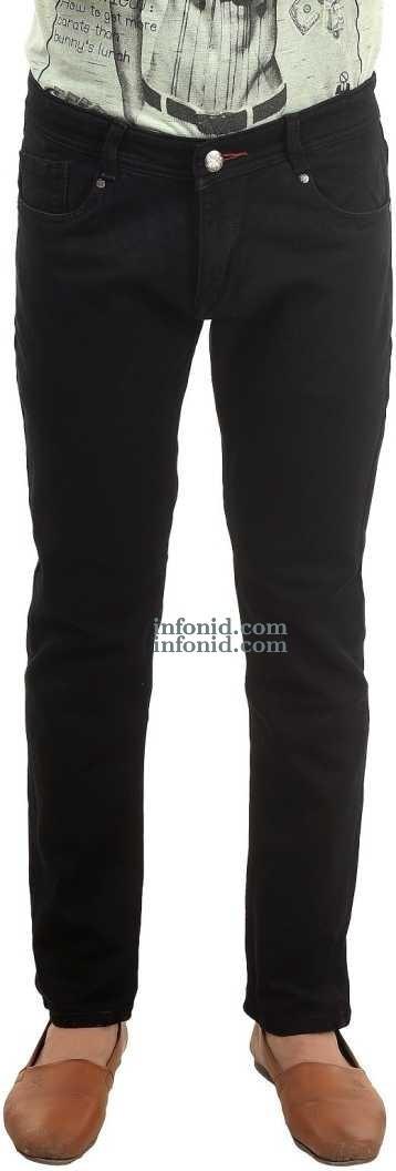 Good Materials Reckwood Slim Black Jeans
